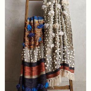 Anthropologie collaged majida throw blanket
